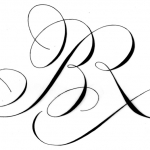 Laurent Rebena calligraphie creation Monogramme Rothschild luxe anglaise elegance