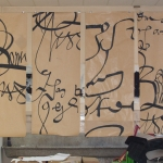 Laurent Rebena Calligraphe Calligrapher Master Type Alphabet Creation Portes Parislecture